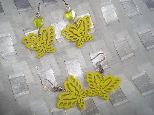 motýlci žlutí 2x