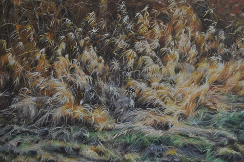 Podzimní mez - suchý pastel