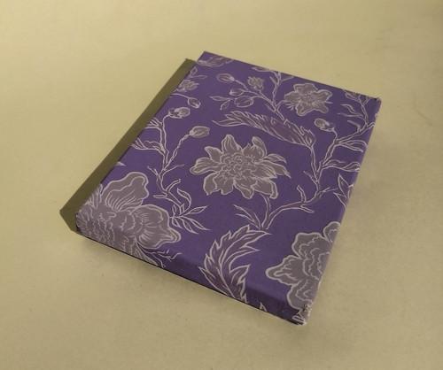 krabička HONZA - fialové květy