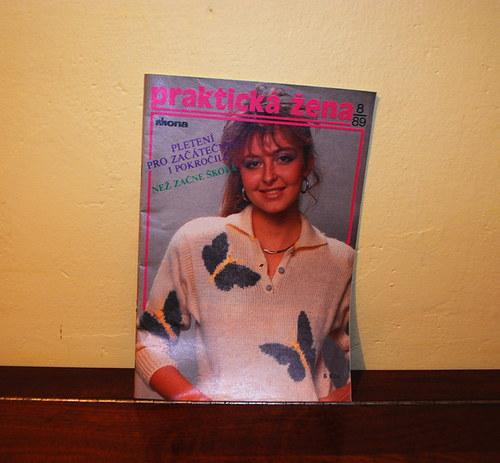 Časopis Praktická žena 1989