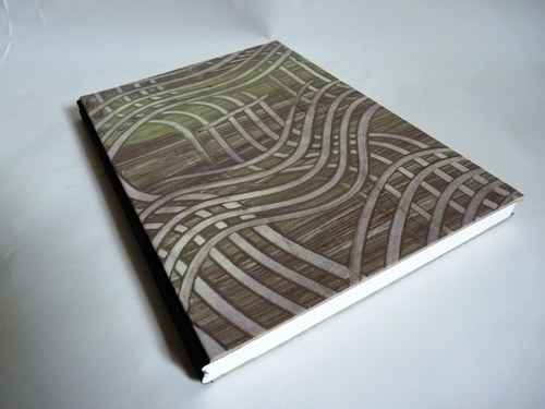 Zelenofialový zápisník - SLEVA