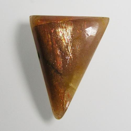 Sluneční kámen, 11,28 ct., 20,5x15,9x6,7 mm