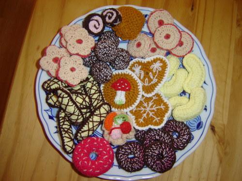 Háčkované cukroví - 100% dietní :-)