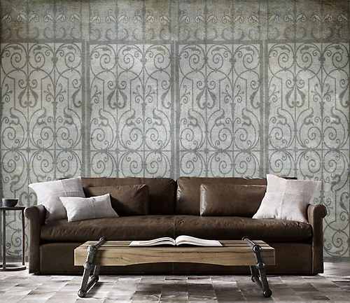Luxusní vliesová tapeta ,,Vintage style - Lattice,