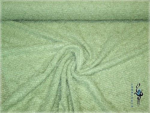 Zelená pletenina-cena za 1bm