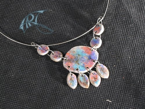 oxidový keramický šperk 2
