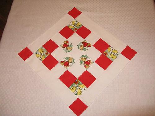 Ubrus na stůl - velikonoční motiv