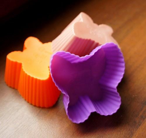 Silikonová forma na mýdlo - motýl