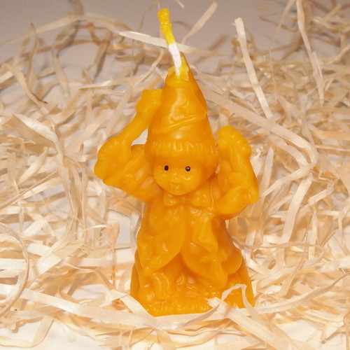 Svíčka ze včelího vosku - Kouzelník