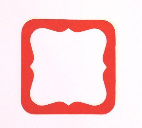 Rámeček závorkový 9,3 cm