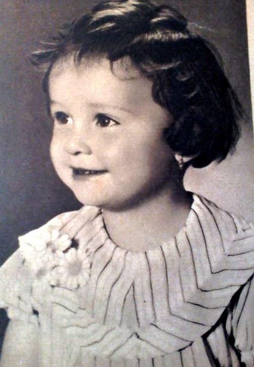 Dětský portrét - orig. pohlednice 1941