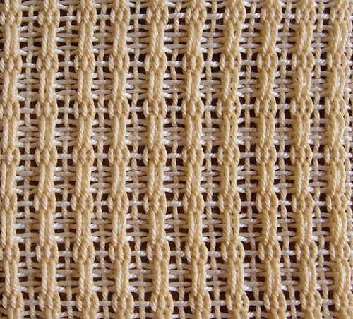 Kurz - Ažurové tkaní Bronson lace