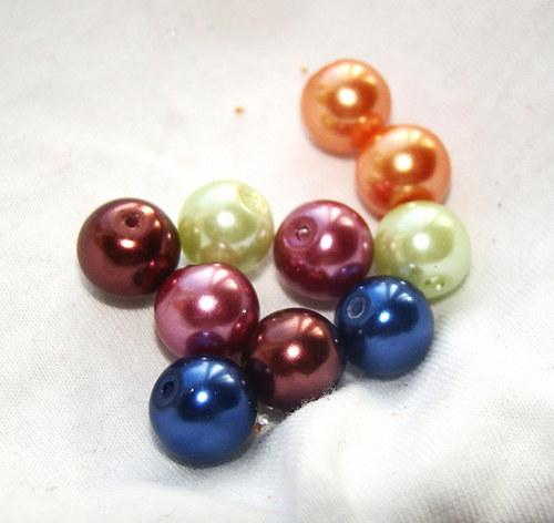 VOSKOVKY mix barev 10 mm, 10 kusů