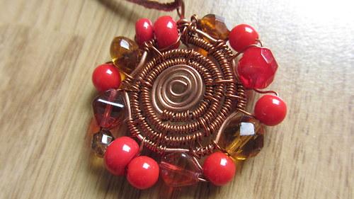 Drátkovaný náhrdelník