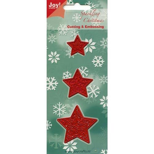 Šablona Joy Crafts - Hvězdy (3 ks)
