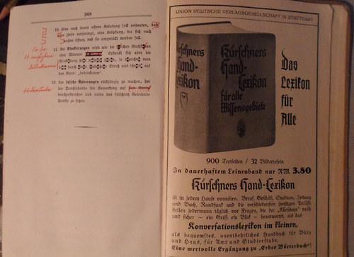 Karl Erbe - Wörterbuch der deutschen Rechtsbuch