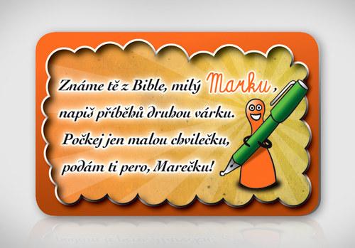 Poetická magnetka se jménem Marek