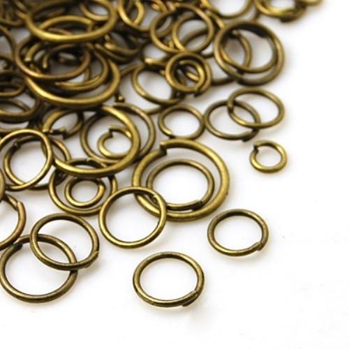 Spojovací kroužky mix velikostí 100 ks