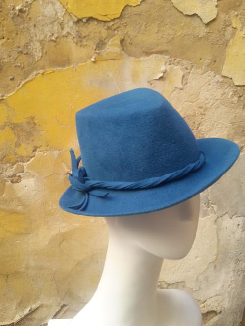 dámský klobouk v pán stylu - troj.hlava