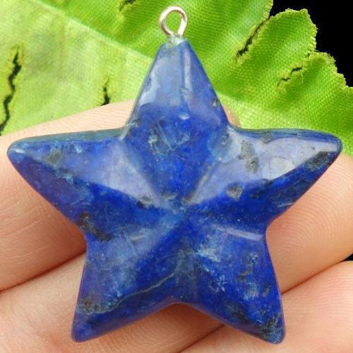 Přívěšek Hvězda Lapis Lazuli  40mm - Y23649