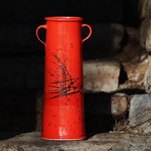 Váza s uchy Sůva - Ohnivý rej