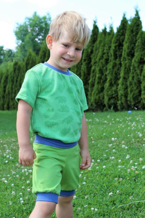 Dětské tričko- BAMBUS -  více barev a vzorů