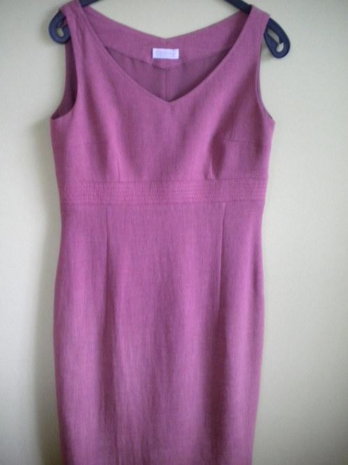 Dámský komplet - šaty a sako vel. 36