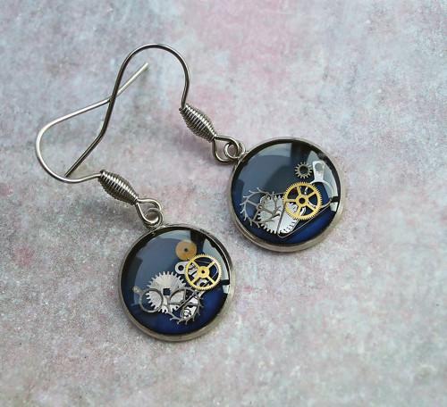 Earings /blue/