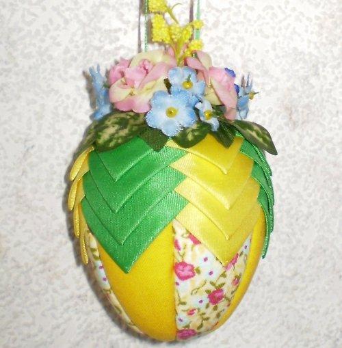 Artyčokové vajíčko - zeleno-žluté - malé