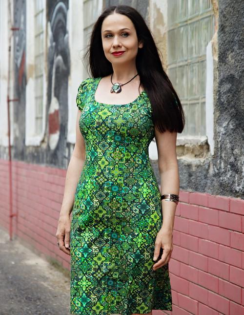 """autorské šaty \""""IRELAND\"""" No.1"""