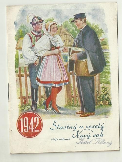 Poštovní knížka 1942