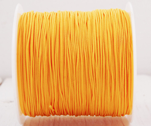 20m 65 22yrd Žlutý Nylon Kabel Makramé Vlákno Navl