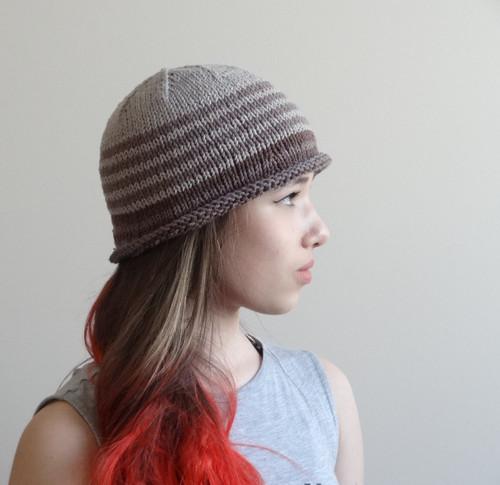 drobný letní pletený - klobouk