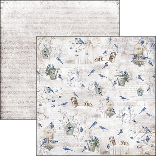 Oboustranný papír na scrapbook