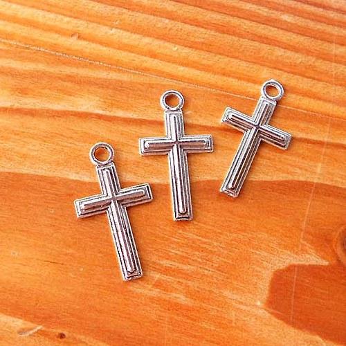 Trojitý Kříž - 2ks - Platinový