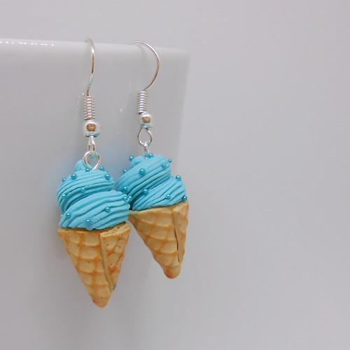 Náušnice zmrzliny