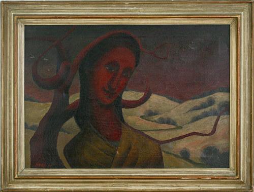 gotická madona z Pošumaví