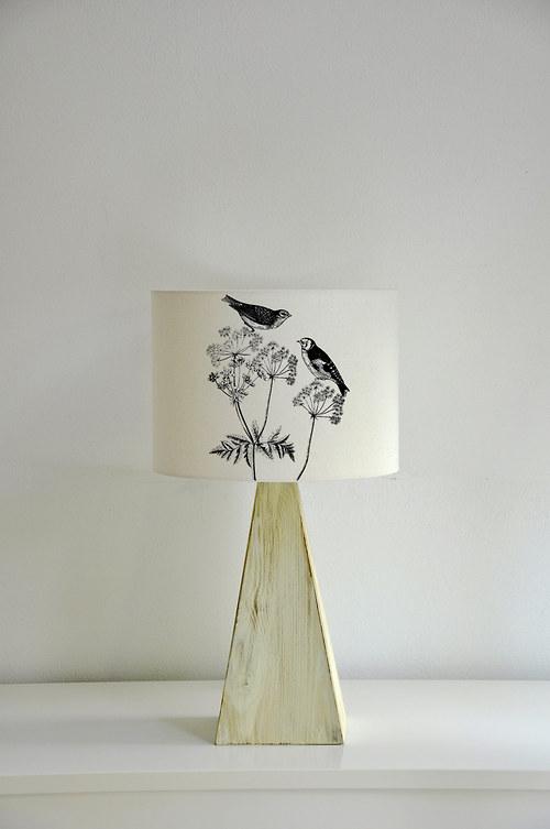 Stínítko na lampu Okolík I.- stolní/stropní