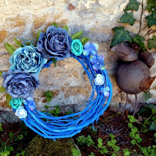 Provence_věnec na dveře