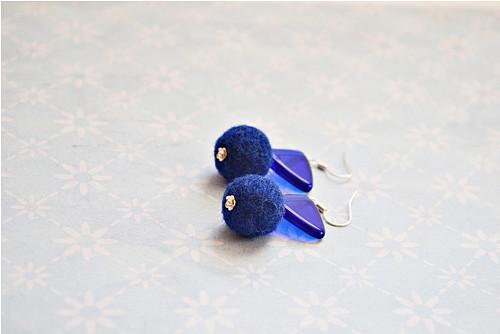 Plstěnky modré
