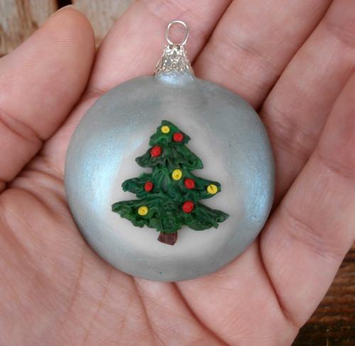 Vánoční ozdoba/přívěsek: Ozdobička se stromečkem