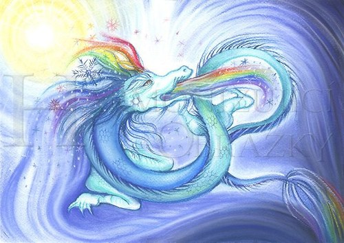 Vesmírný sněhový drak A5