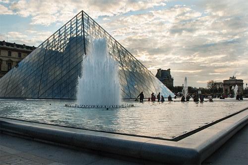 Paříž - pyramida