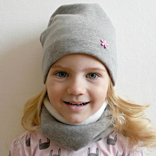 Zimní set čepice a nákrčník