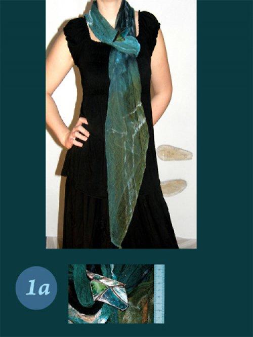 Komplet spona tiffany a šátek