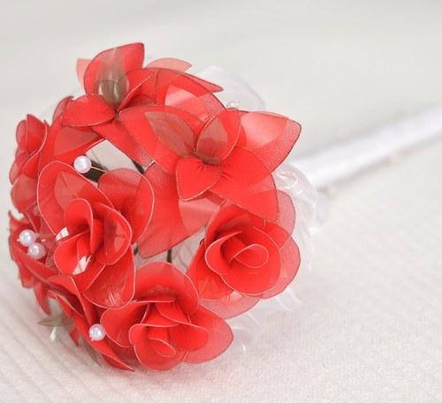 """Nylon flowers \""""Svatební kytice\"""""""