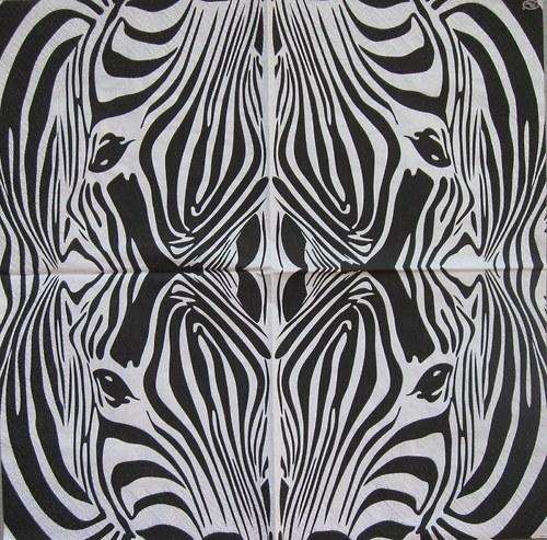 Afro- safari zebra č.1638