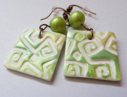 Zelenkavé kostky