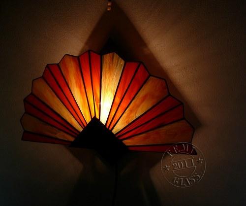 Vějířová lampa