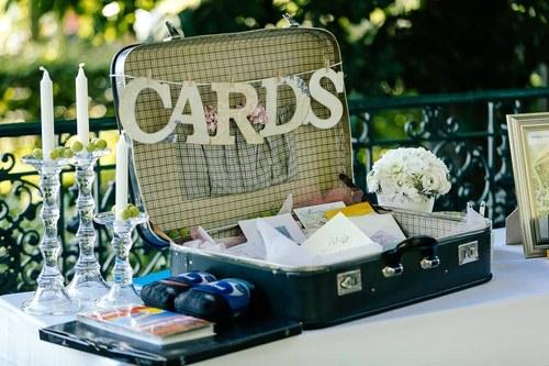 Nadpis na svatební kufr